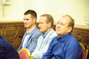 Artur Duszkiewicz, Damian Pietras, Paweł Borowiak
